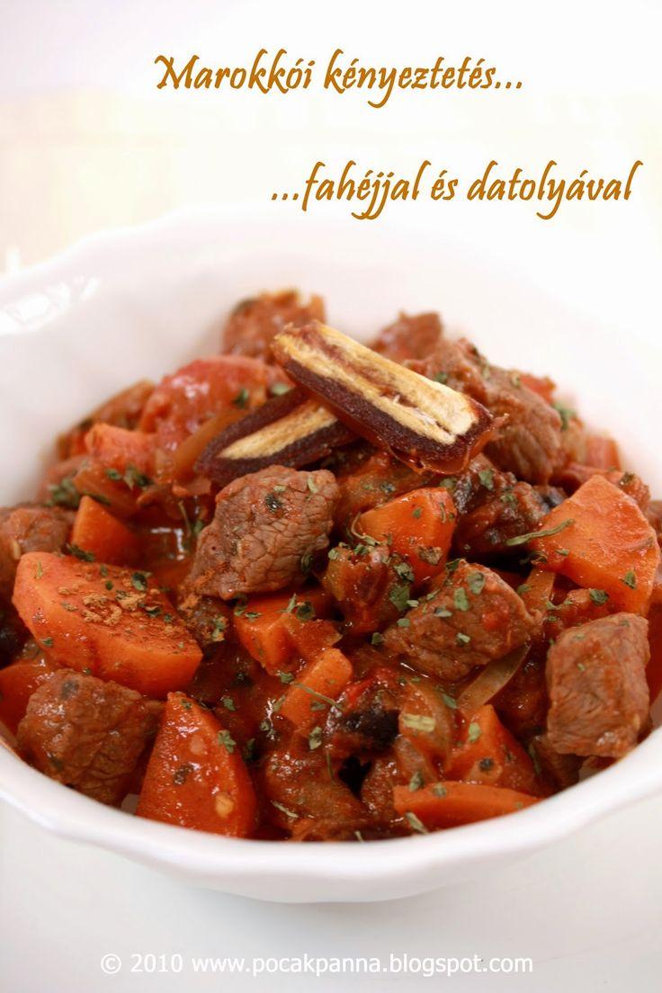 Pocak Panna paleo konyhája: Marokkói illatos marha pörkölt (paleo)