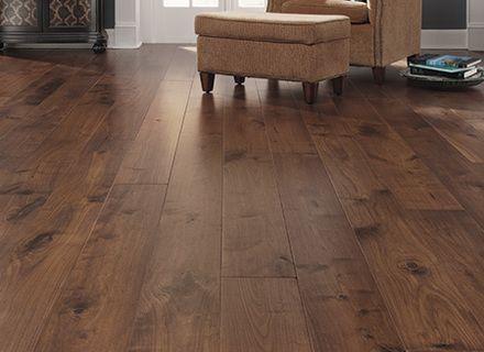 Rustic Wide Plank Hardwood Flooring