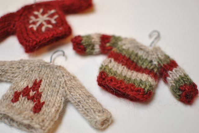Knitted Christmas Tree Patterns Free