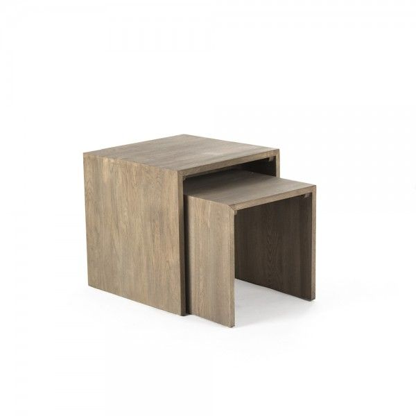 Ava Side Table (L) - Side Table - Table