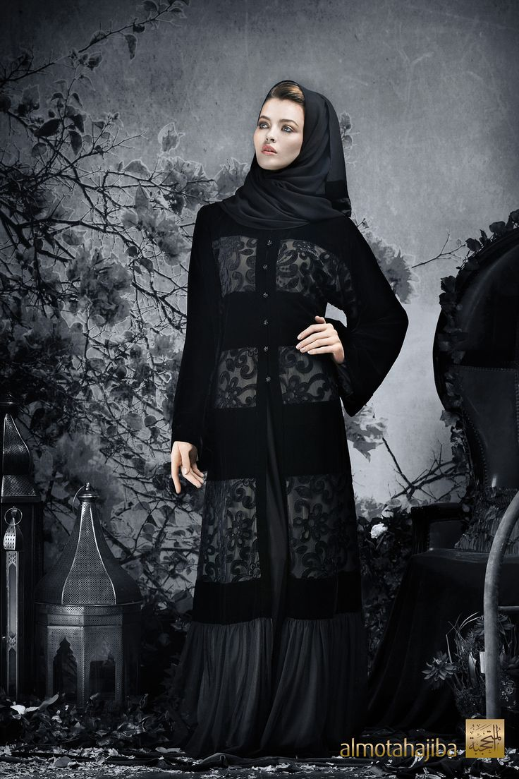 Abaya by Almotahajiba.Winter Collection 2013-2013.
