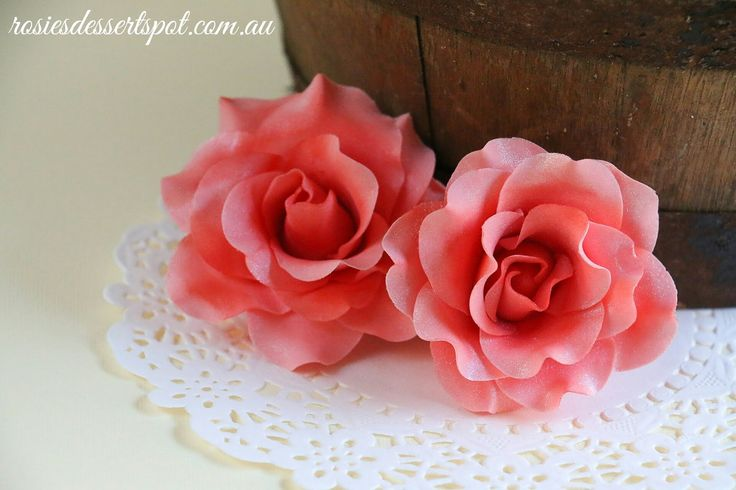 A bonus video this week! In this video I demonstrate how to make gum paste roses. Normally to make large blooming roses, you need to dry out the bud for a da...