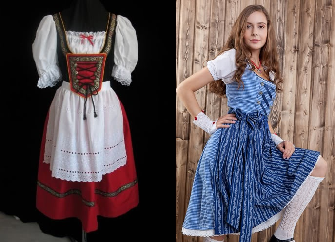Dirndl - traditional German dress from Bavaria