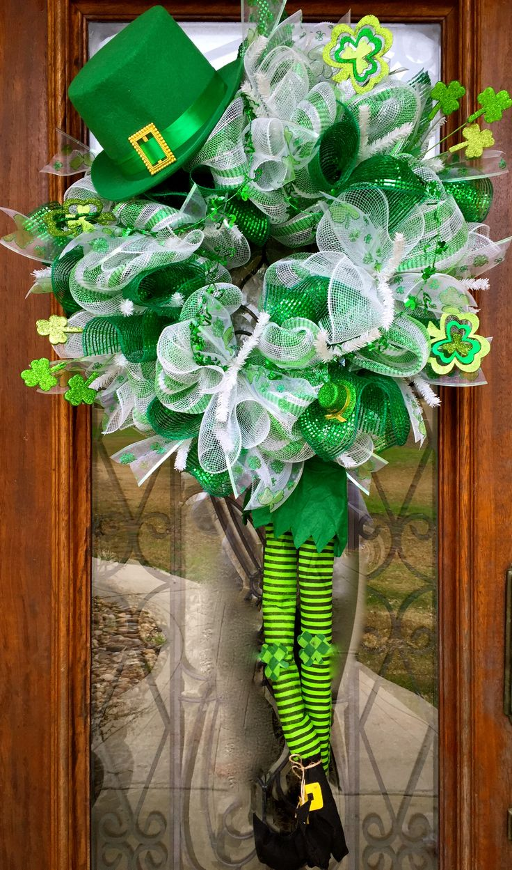 St. Patrick's Leprechaun by Southern Sass decor by Ember on facebook