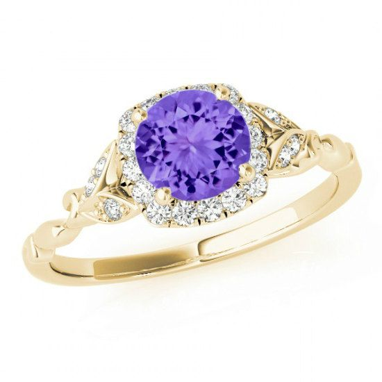 tanzanite engagement rings for women - 550×550