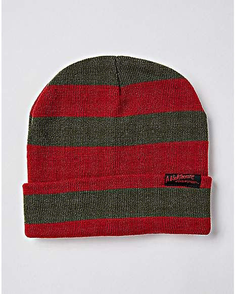 A Nightmare On Elm Street Beanie Hat - Spencer s  067ee338ad7f
