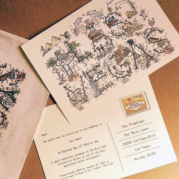 76 best images about vegas wedding invites paper goods for Las vegas elvis wedding invitations