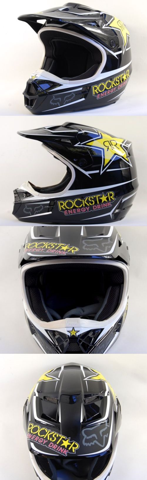 Helmet Accessories 177865: Fox Racing Dot Bmx Rockstars Mens Motocross Snell Helmet Size Medium 7 1/8-7 1/4 BUY IT NOW ONLY: $149.99