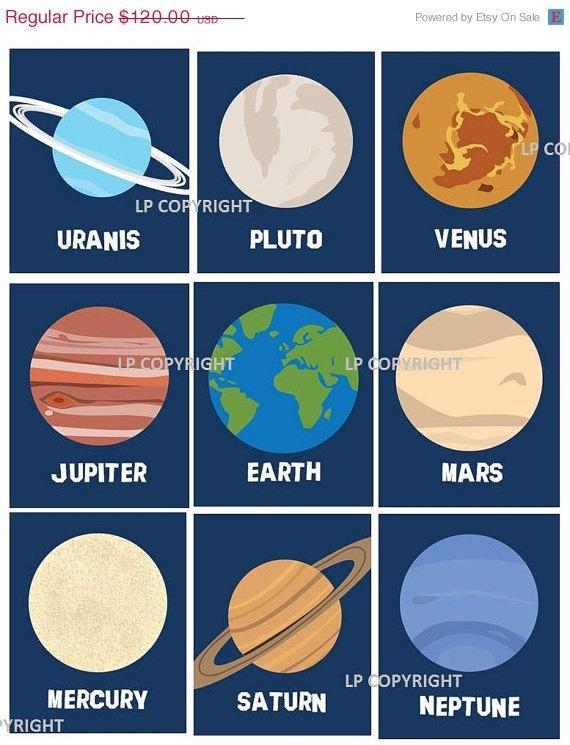 les 7 planets