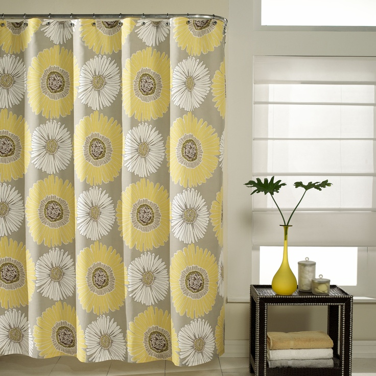 Mustard Yellow Kitchen Curtains: 47 Best Images About My Yellow And Grey Bathroom