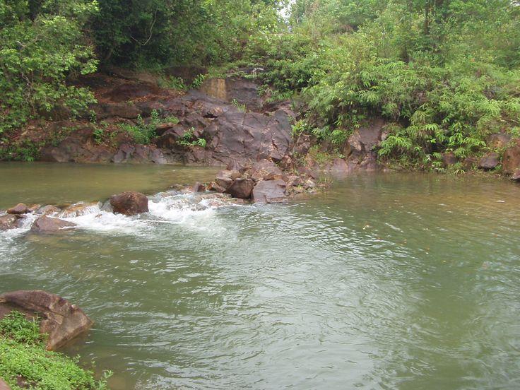 HAH! see how clear it is? - Kota Tinggi Waterfall, Johor from https://thecherylblog.wordpress.com/2013/05/20/kota-tinggi-waterfalls-johor/