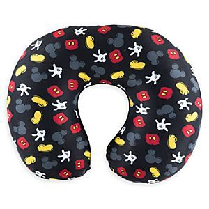 Disney TAG Best of Mickey Mouse Travel Pillow | Disney Store Mickey will provide some relaxing company on your travels with this soft pillow. Featuring the colorful Best of Mickey design, this comfortable neck support is part our Travel•Accessories•Gear Collection.