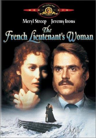 Resultado de imagen de jeremy irons french lieutenant woman cartel
