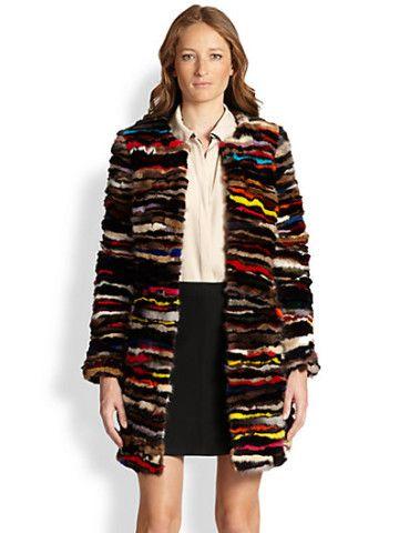 Diane von Furstenberg - Finale Multicolor Shirred Mink Coat, how would you style this? http://keep.com/diane-von-furstenberg-finale-multicolor-shirred-mink-coat-by-elle_magazine/k/1LW0j3gBIt/