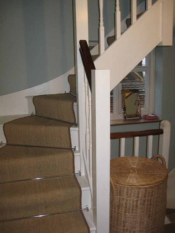 softwood double turn winder staircase