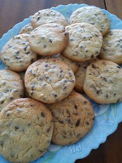 Yummy Mommy Cook: Cookies βανίλιας με σταγόνες σοκολάτας υγείας!!!