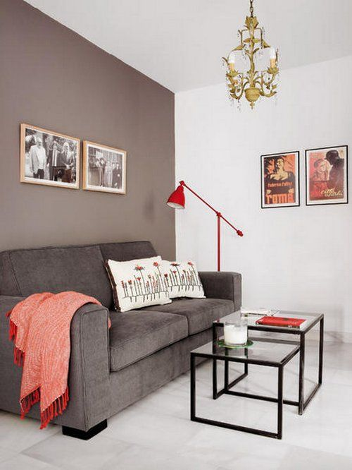 no to color, yes to this tip: If you have a narrow room you. Wall Colors Paint ...
