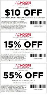 Go Couponing Now: AC Moore Coupons Until 12/30/17