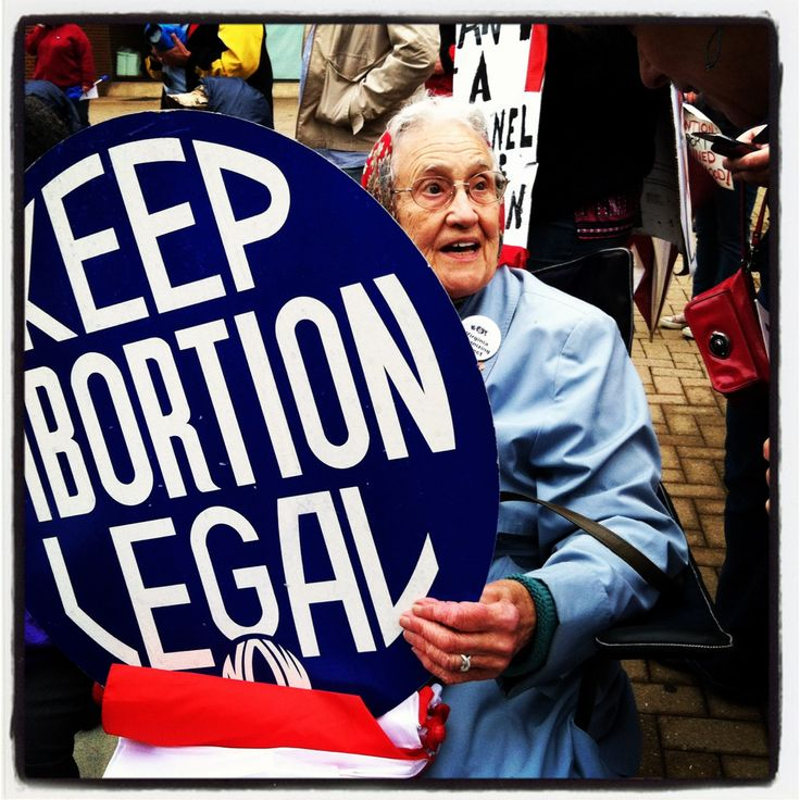 She was fighting 40 years ago, and she's still fighting today. #abortion