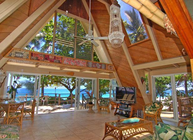 hawaii beach house dream house pinterest. Black Bedroom Furniture Sets. Home Design Ideas