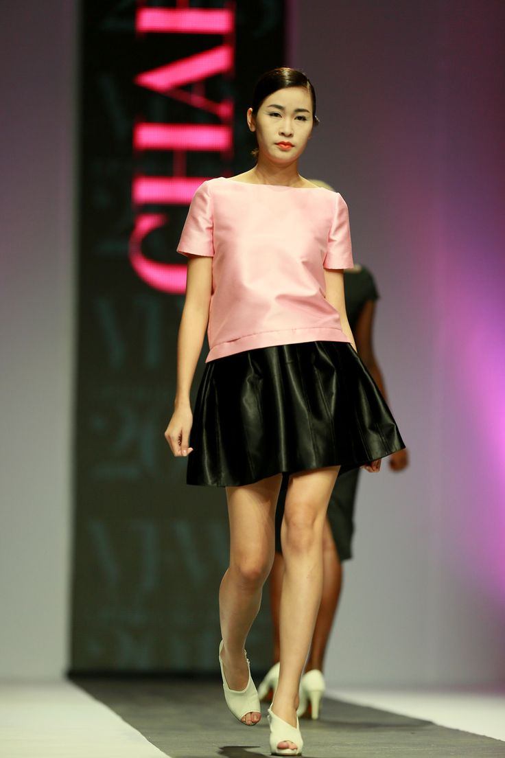 Vietnam Fashion Week SS15 - Ready to wear. Designer: CHARMING LYS. Photo: Nguyen Thanh Dat