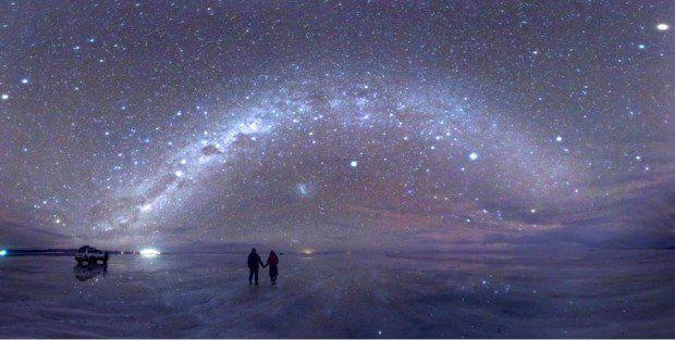 ボリビア : ウユニ塩湖