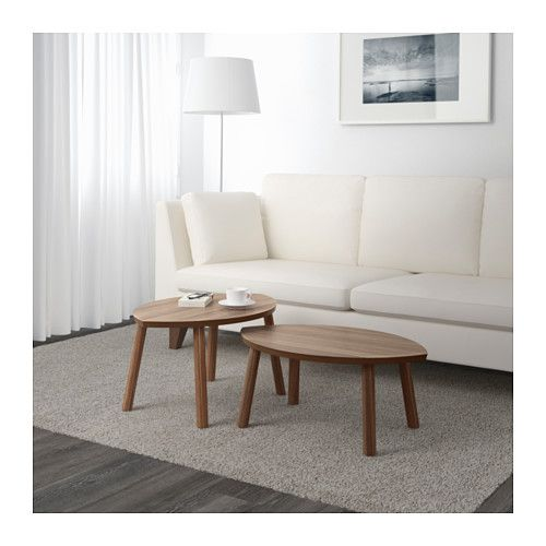 STOCKHOLM Tables gigognes, lot de 2  - IKEA