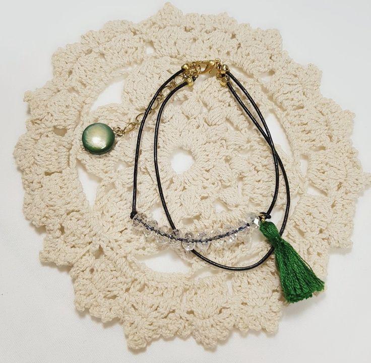 beads tassel bracelet