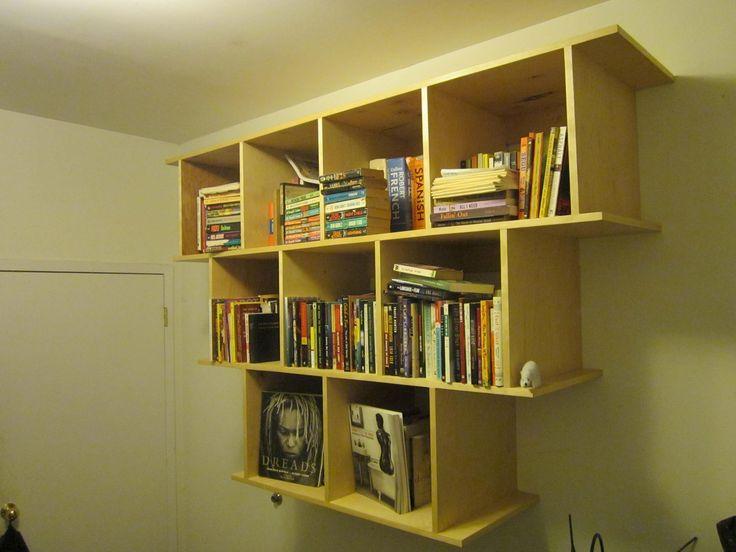Book Wall Shelves Gallery With Design Enhancement  Contemporary - outdoor k amp uuml che selber bauen
