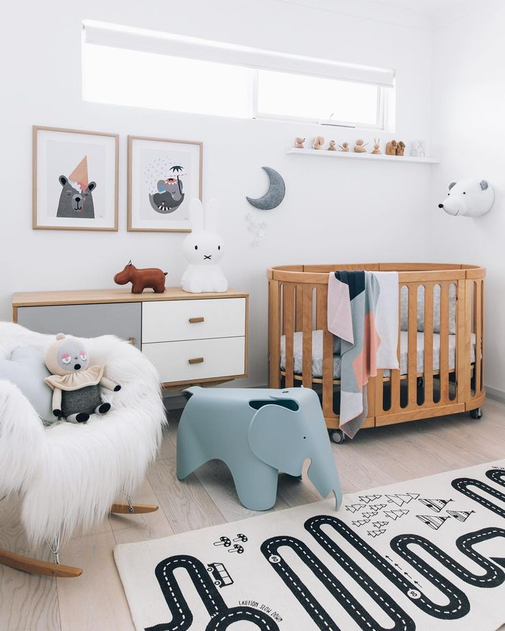 This dreamy nursery belonging to @sassandspice is part of her family's home tour in the latest Adore - our Sweet Dreams edition. Pick up a copy today at your local newsagent for loads of interior inspiration.  and styled by @oh.eight.oh.nine