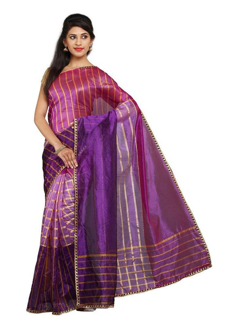 Parchayee Purple Mysore Art silk Zari stripe Saree FS: Amazon : Clothing & Accessories  http://www.amazon.in/s/ref=as_li_ss_tl?_encoding=UTF8&camp=3626&creative=24822&field-keywords=mysore%20silk%20sarees&linkCode=ur2&tag=onlishopind05-21&url=node%3D1968256031  #Mysore #Silk #Sarees