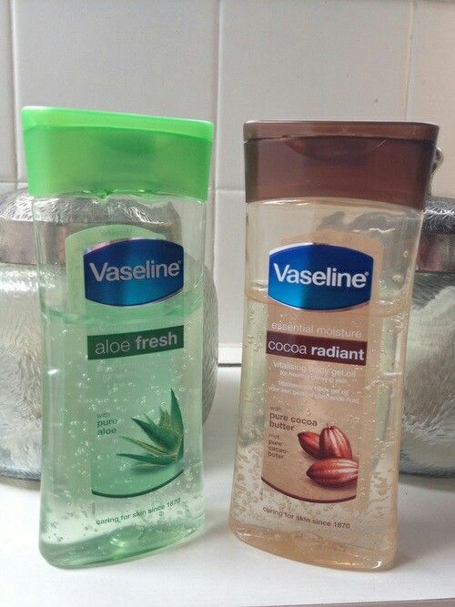 Vaseline body gel oil @GottaLoveDesss