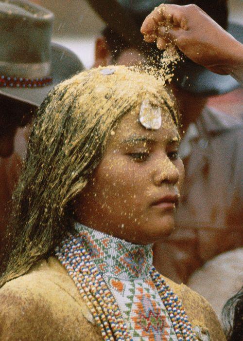 Nita Quintero at her Sunrise Dance (Na'ii'ees), White Mountain Apache Tribe, Arizona.