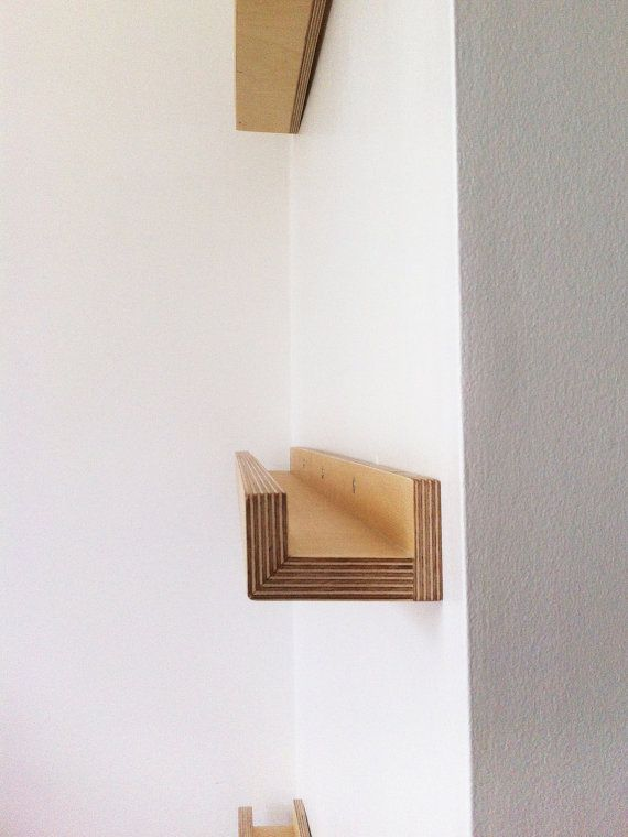 Wooden Hand Made Birch Plywood Shelf