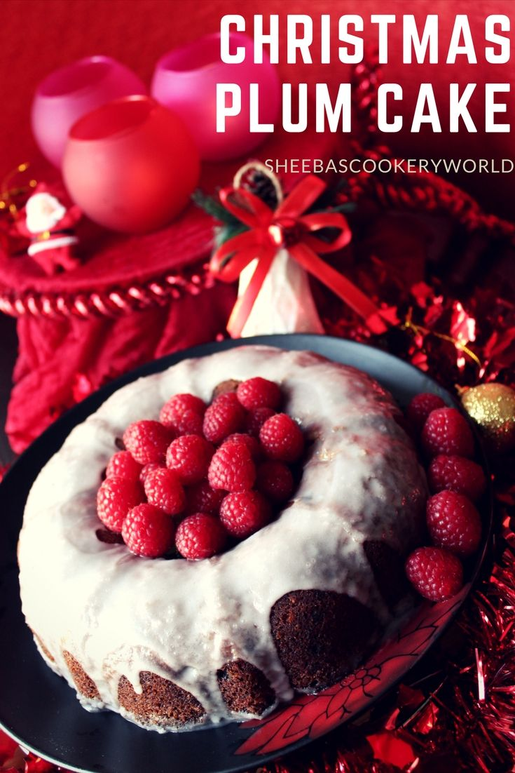 Christmas Special Plum Cake Fruit Cake Recipe Instant Cake Without Wine Or Alcohol It Is An Instant Plum Cake Christmas Food Baking Recipes Fruitcake Recipes
