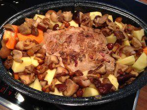 Rôti de porc fermier La recette sur le site : www.ondine-a-table.com
