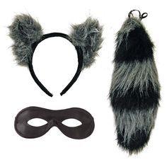 Adult Raccoon Costume Kit - Animal Costumes