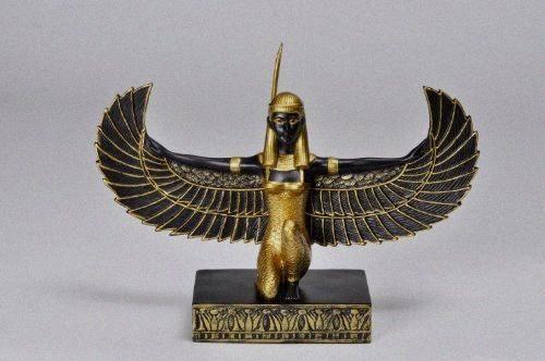 Egyptian Goddess Maat Statue-Law - Justice - Balance