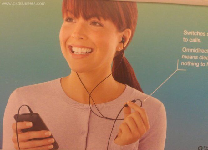 Headphones so good, you wan't even realize they're not plugged in. Bad Ads