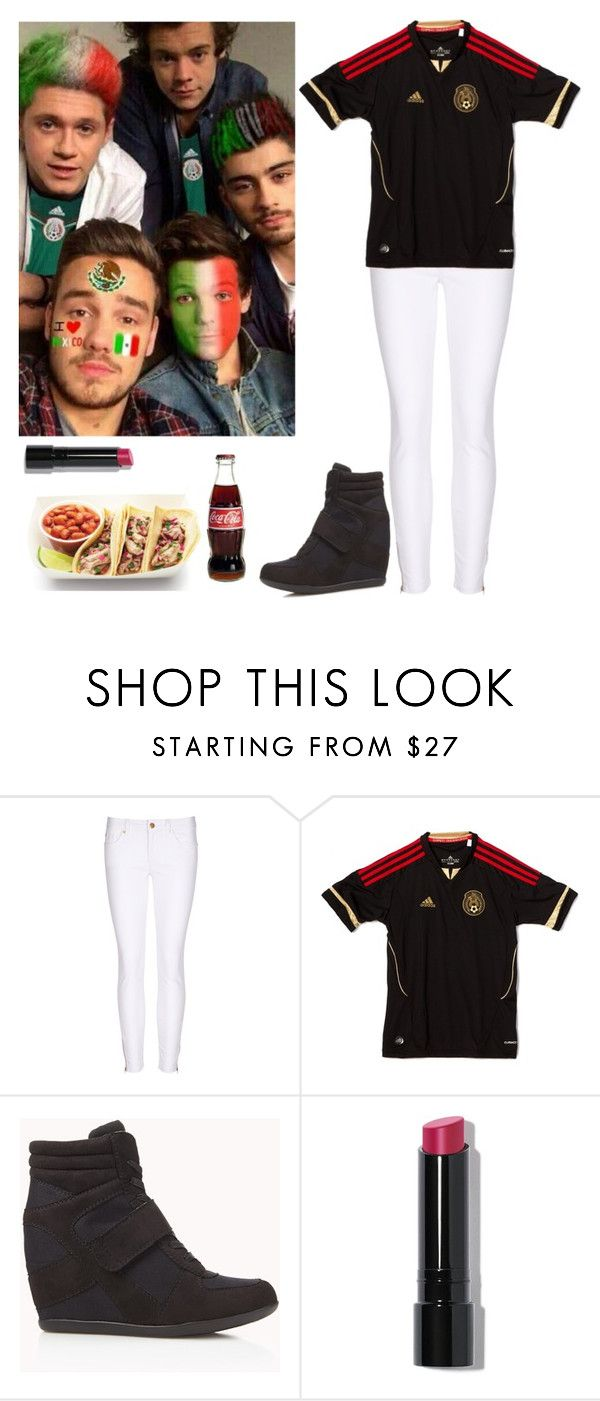 """Mexico vs. Holanda with the guys"" by kenyaballeza ❤ liked on Polyvore featuring Forever 21 and Bobbi Brown Cosmetics"