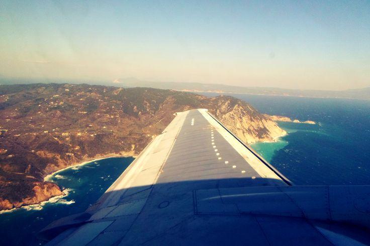 #sky #island #greece #summer #flying #travel