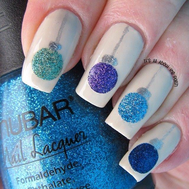 christmas by graciezac #nail #nails #nailart