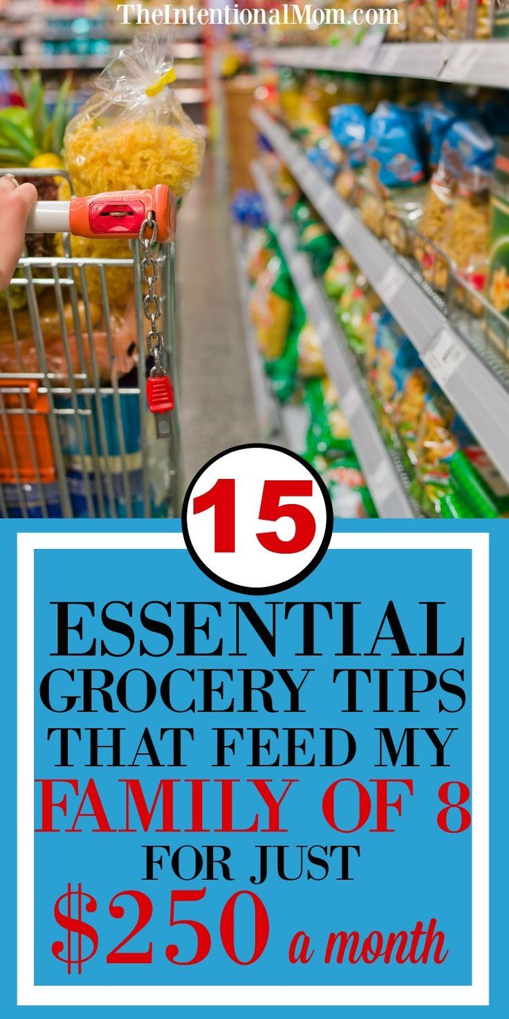 If a mom of 6 can feed a family on next to nothing, she has some amazing skills. Check out how she does it & use her secrets to slash your grocery budget! via @www.pinterest.com/JenRoskamp