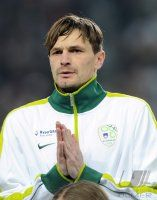 Fussball Nationalmannschaft : Milivoje NOVAKOVIC (Slowenien)