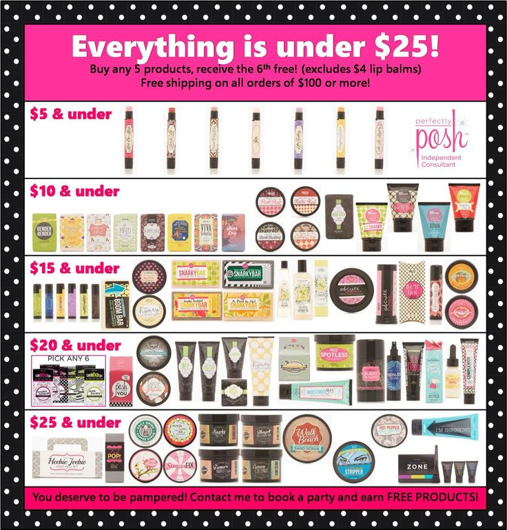 184 best perfectly posh images on Pinterest Skincare, DIY and - product list samples