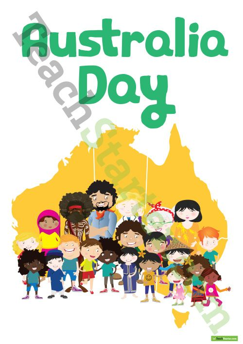Teaching Resource: 8 pages of posters and worksheets for Australia Day (FREE sample pages)