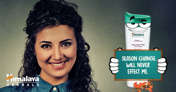 As the season changes, the hair fall increase but with Himalaya Anti Hair fall Shampoo, only season will change not your hair.