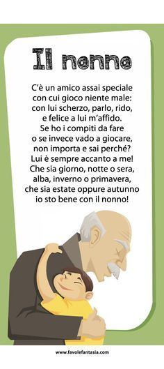 Il nonno_filastrocca_