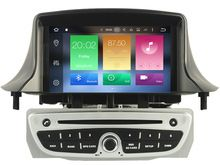 """US $380.00 1024*600LCD Octa Core Android 6.0 2GB RAM car dvd player For 7"""" RENAULT Megane II/Fluence 2009-2011 gps navigation head units 3G. Aliexpress product"""