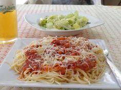 Μακαρόνια με πικάντικη σάλτσα με τσίλι και σκόρδο.!! ~ ΜΑΓΕΙΡΙΚΗ ΚΑΙ ΣΥΝΤΑΓΕΣ